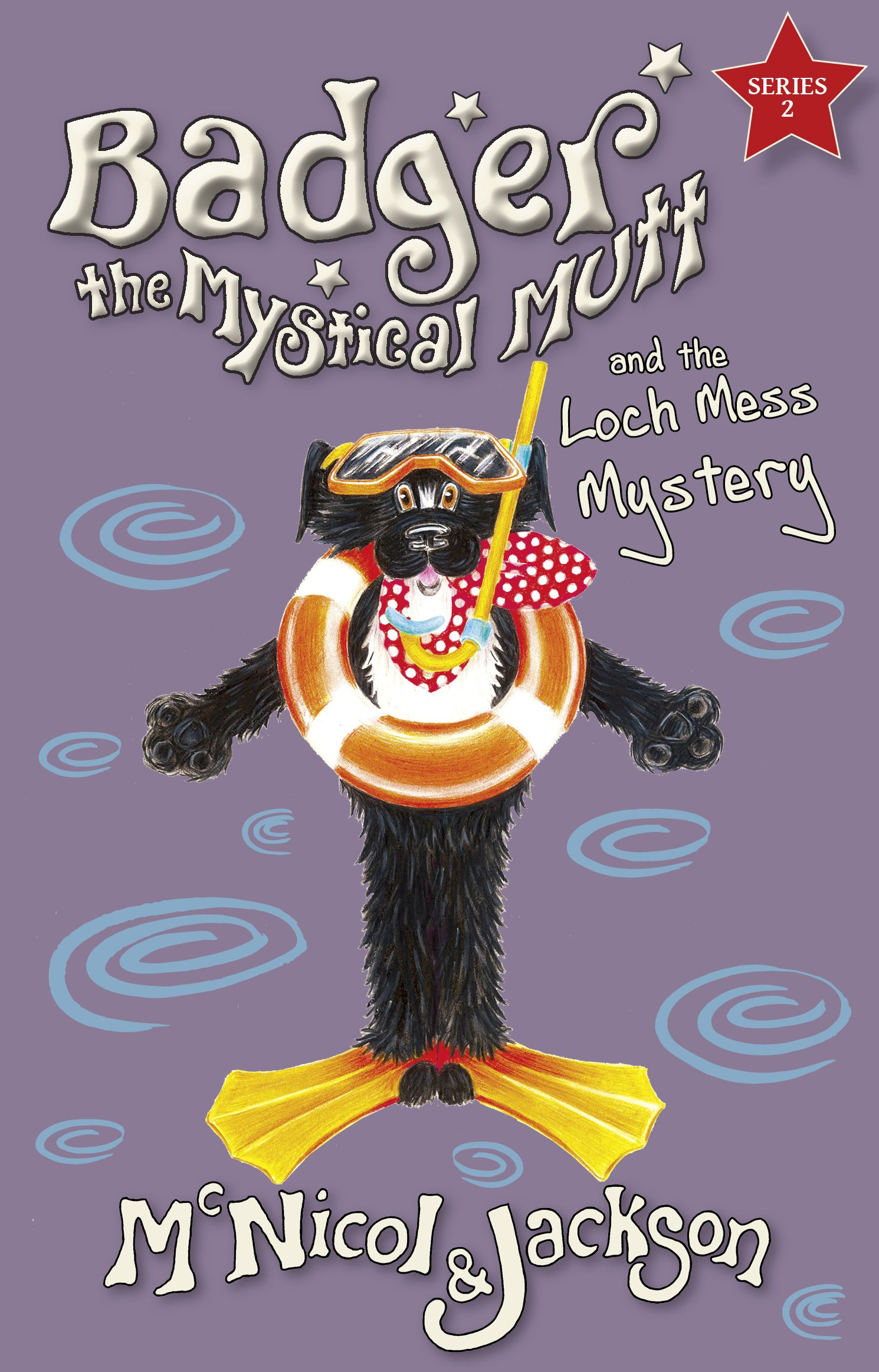 Cover of Badger the Mystical Mutt and the Loch Mess Mystery